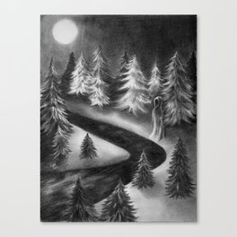 Winter Ghost Canvas Print