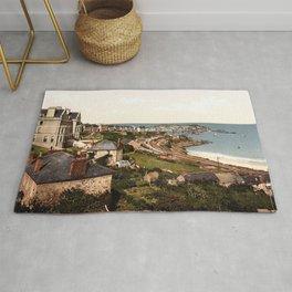St. Ives, Porthminster Bay, Cornwall, England Rug