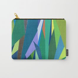 Abstract Geometric Garden Carry-All Pouch
