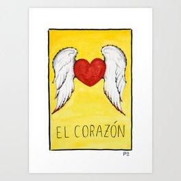 El Corazón Art Print