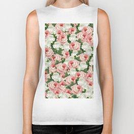 Juliet -  Romantic Roses Biker Tank