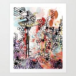Pink Dervish Art Print