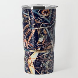 Patterned Pine No:1 Travel Mug