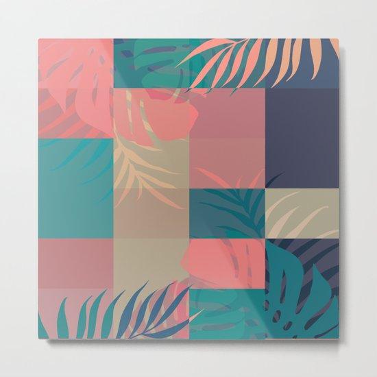 Tropical Mess #society6 #decor #buyart Metal Print