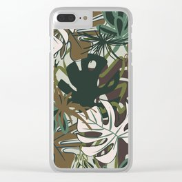 BUNGALOW Clear iPhone Case