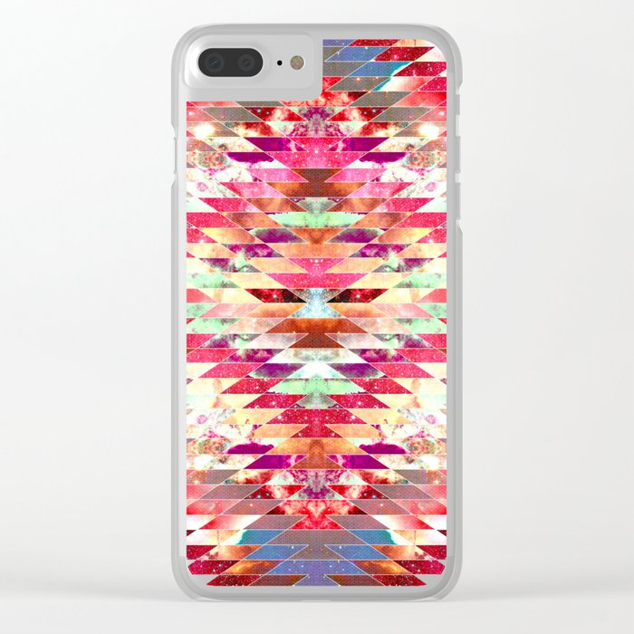 Ancient Star Clear iPhone Case