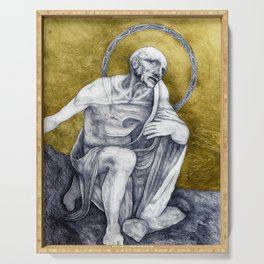 St Jerome Serving Tray