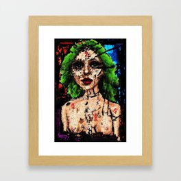Mercy Is The Human Heart Framed Art Print