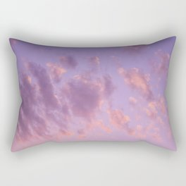 pastel sky Rectangular Pillow