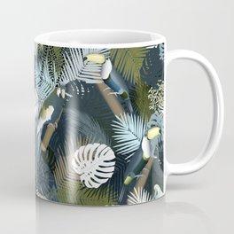 Toucan&Parrot (Blue-Green) Coffee Mug