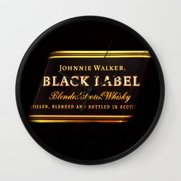 black label 2 Wall Clock