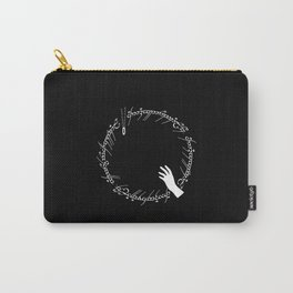 Temptation of the Ring (Black) Carry-All Pouch