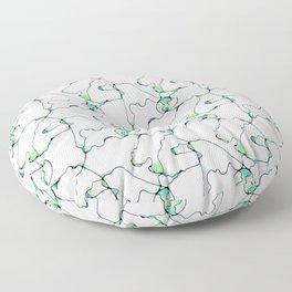 Divine Revelation seamless pattern Floor Pillow