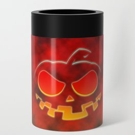Screaming Pumpkin Can Cooler