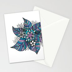 Line Floral Stationery Cards
