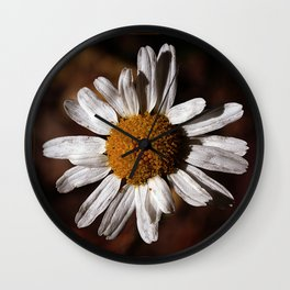 Colorado Wild Flower Wall Clock