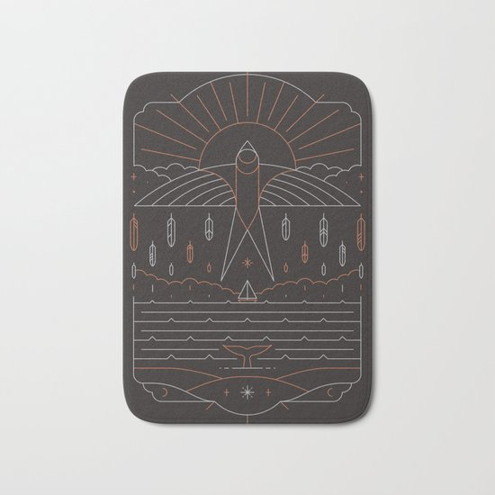 The Navigator Bath Mat