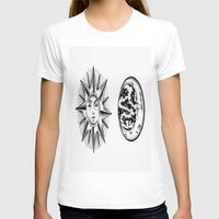 sun and moon T-shirts featuring Sun & Moon by Cady Bogart