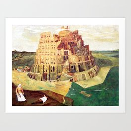 Babel Revisited - Where is Waldo Art Print