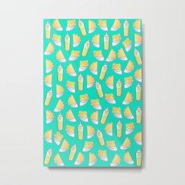 Pastelitos con Salsita. Metal Print