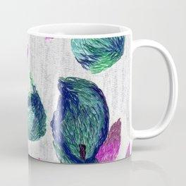 embroidered callas Coffee Mug