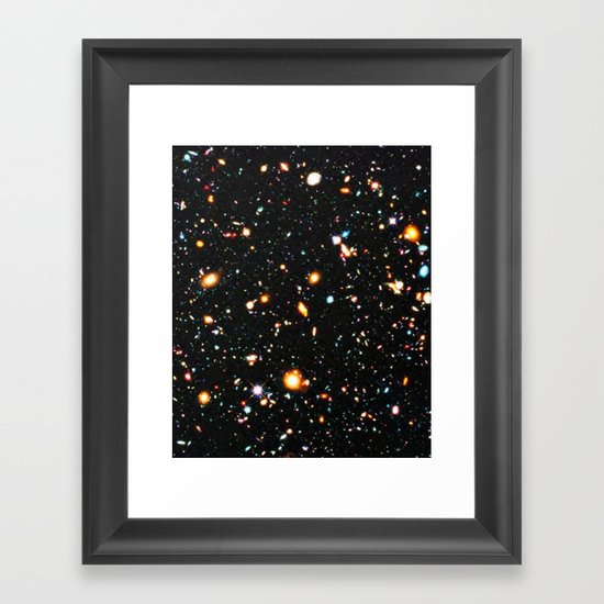Hubble Extreme Deep Field High Resolution by colorfuldesigns