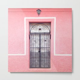Door in Granada, Nicaragua Metal Print