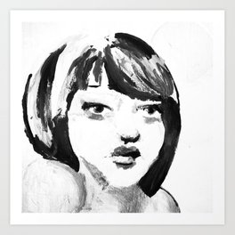 Portrait 115 Art Print