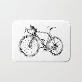 Wooden Bicycle Bath Mat