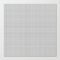 grid Canvas Prints featuring Grid by Georgiana Paraschiv