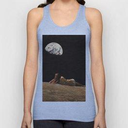 Moon Vacay Unisex Tank Top