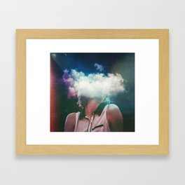 Distance On My Mind (The Clouded Diaries) Framed Art Print