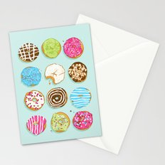 Sweet donuts Stationery Cards