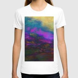 deep purple sky T-shirt