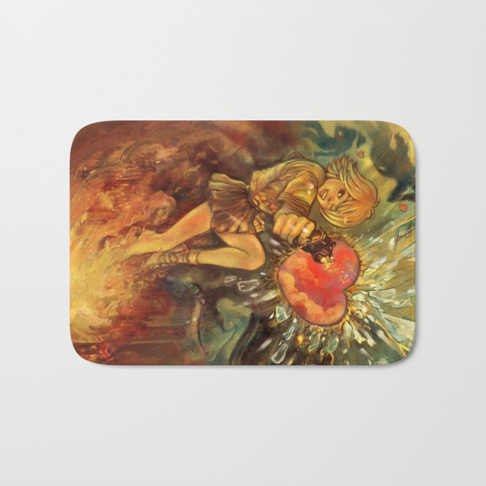 Straight to Your Heart! Bath Mat