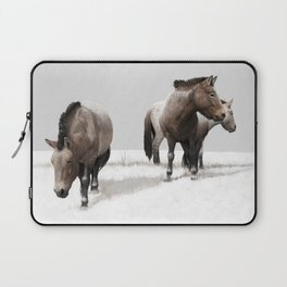 Ice Age Horses Laptop Sleeve