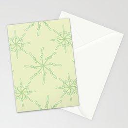 Abstract Samara Fruit Pattern Stationery Cards