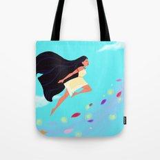 Pocahontas Leap Tote Bag