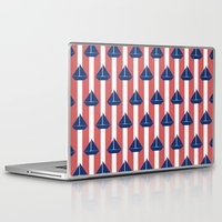 sailboat Laptop & iPad Skins featuring SAILBOAT by ovisum
