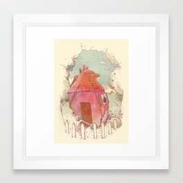 Home Is Where Your Heart Is Framed Art Print