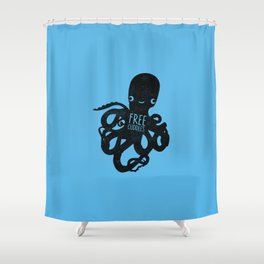 Free Cuds Shower Curtain