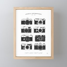 Collections - Appareil Photographiques Framed Mini Art Print
