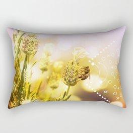 Bee at Home Rectangular Pillow