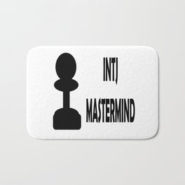 INTJ MASTERMID MBTI rare personality type Bath Mat