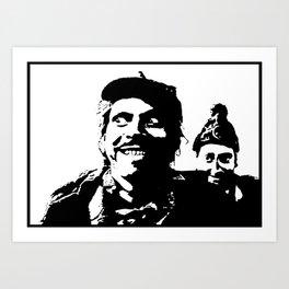 Digby Madness Art Print