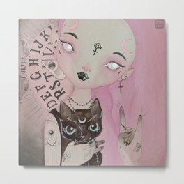 Teen Witch Metal Print