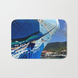 Norwegian Cruise Swordfish Bath Mat