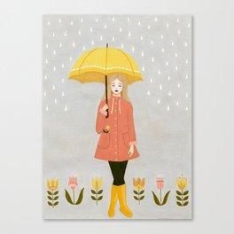 showers & flowers Canvas Print