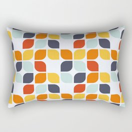 Vintage 60s geometry pattern 14 Rectangular Pillow