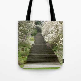 Stair Case Blossom Tote Bag